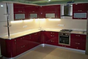 Кухня с барной стойкой - Мебельная фабрика «МЭК»