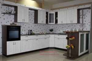Кухня с барной стойкой Анжелика - Мебельная фабрика «Основа-Мебель»