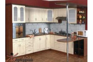 Кухня с барной стойкой Виолетта - Мебельная фабрика «Меркурий»