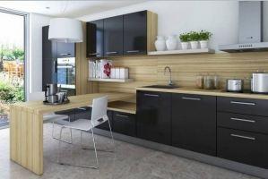 Кухня с барной стойкой Забава - Мебельная фабрика «LEVANTEMEBEL»
