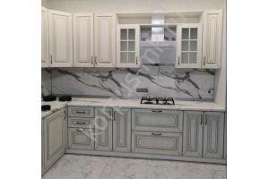 Кухня с фасадами Экошпон - Мебельная фабрика «Корпус»