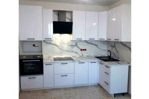 Кухня с фасадами МДФ в ПВХ - Мебельная фабрика «Таита»