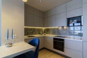 Кухня с фасадами Simpel 1 и Simpel 7 - Мебельная фабрика «Меранти М»
