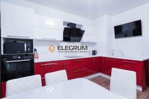 Кухня с фасадом Акрил 2 - Мебельная фабрика «ELEGRUM»