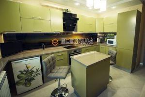 Кухня с фасадом Акрил 3 - Мебельная фабрика «ELEGRUM»