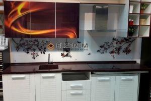 Кухня с фотопечатью - Мебельная фабрика «ELEGRUM»