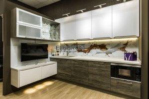 Кухня с фасадом ЛДСП Egger - Мебельная фабрика «ELEGRUM»
