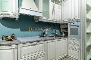 Кухня с фасадом МДФ ПВХ рамочный - Мебельная фабрика «ELEGRUM»
