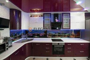 Кухня с фасадом Пластик Resopal - Мебельная фабрика «ELEGRUM»