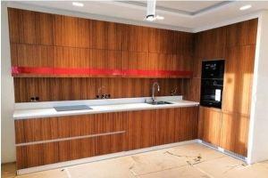Кухня с фасадом Шпон - Мебельная фабрика «ПАТЭ»