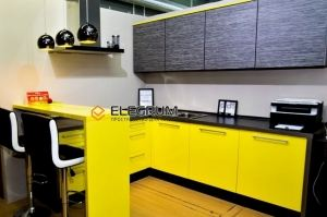 Кухня Шпон и Пластик Formica - Мебельная фабрика «ELEGRUM»
