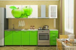 Кухня с фотопечатью - Мебельная фабрика «SaEn»
