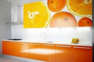 Кухня с фотопечатью 4 - Мебельная фабрика «Владикор»