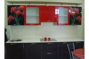 Кухня с фотопечатью 5 - Мебельная фабрика «Владикор»