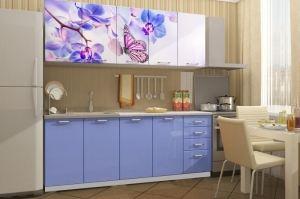 Кухня с фотопечатью Бабочка - Мебельная фабрика «Вавилон 58»