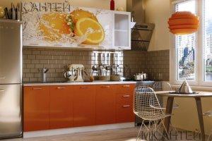 Кухня с фотопечатью Цитрус - Мебельная фабрика «Антей»