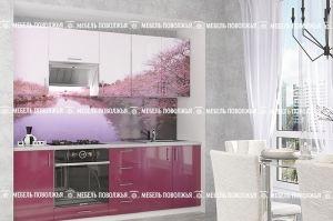 Кухня с фотопечатью Гавань - Мебельная фабрика «Мебель Поволжья»