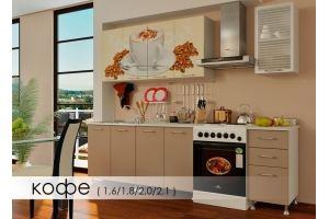 Кухня с фотопечатью Кофе - Мебельная фабрика «Мебель Даром»