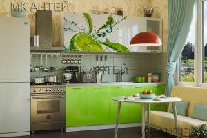 Кухня с фотопечатью Лайм - Мебельная фабрика «Антей»
