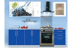 Кухня с фотопечатью Лоза - Мебельная фабрика «VLAST»