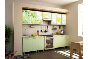 Кухня с фотопечатью Ромашка - Мебельная фабрика «Меркурий»