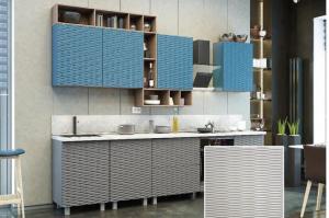 Кухня с фрезеровкой SaEn-1 - Мебельная фабрика «SaEn»
