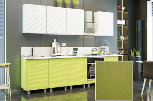 Кухня с фрезеровкой SaEn-2 - Мебельная фабрика «SaEn»