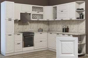 Кухня с фрезеровкой SaEn-5 - Мебельная фабрика «SaEn»