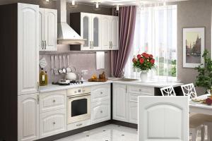 Кухня с фрезеровкой SaEn-6 - Мебельная фабрика «SaEn»