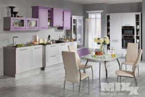 Кухня с глянцевым фасадом Эмика - Мебельная фабрика «Кухни MIXX»