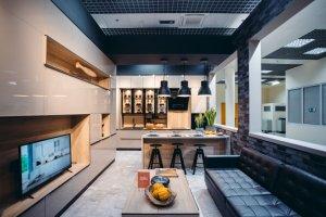 Кухня с гостиной совмещенные - Мебельная фабрика «Смоленскмебель»