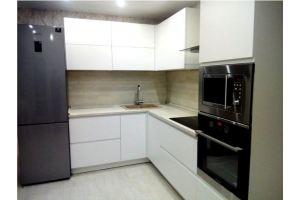 Кухня с интегрированной ручкой Ника - Мебельная фабрика «Rits»