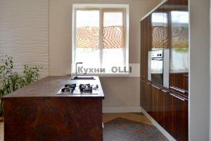 кухня с островом - Мебельная фабрика «Кухни OLLI»
