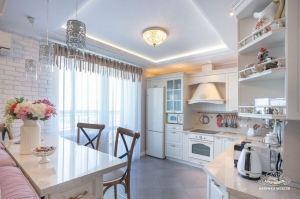 Кухня угловая с островом - Мебельная фабрика «Молчанов»