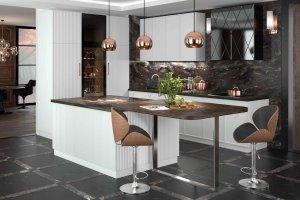 Кухня с островом Capitale - Мебельная фабрика «Cucina»