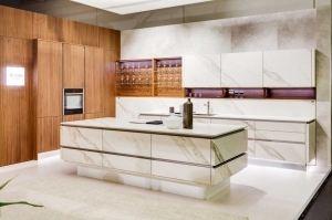 Кухня с островом Ceramo - Мебельная фабрика «Дриада»