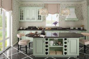 Кухня с островом Симона - Мебельная фабрика «GeosIdeal»