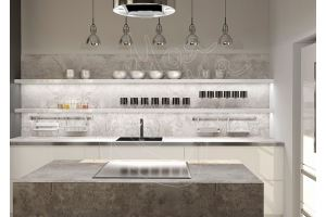 Кухня с островом Стоун - Мебельная фабрика «Моя кухня»