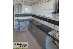 Кухня с пластиковым фасадом - Мебельная фабрика «ДИВО»