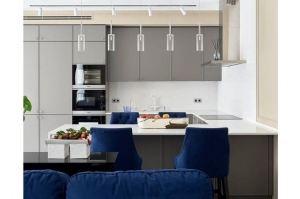 Кухня с полуостровом - Мебельная фабрика «Giulia Novars»