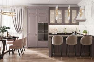 Кухня с полуостровом - Мебельная фабрика «ВерноКухни»