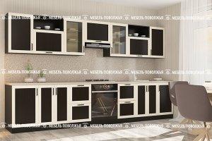 Кухня с рамочным фасадом Рулада - Мебельная фабрика «Мебель Поволжья»