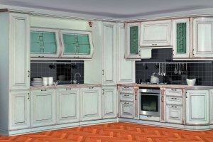 Кухня Сан-Марино 3300х2900 - Мебельная фабрика «Кубань-мебель»