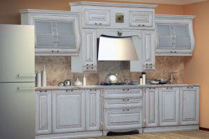 Кухня Сан-Марино белая 330 - Мебельная фабрика «Кубань-мебель»