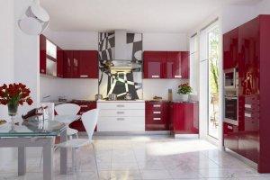 Кухня угловая П-образная Селена - Мебельная фабрика «Д.А.Р. Мебель»