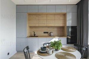 Кухня серая с фасадами Simpel 7 - Мебельная фабрика «Меранти М»