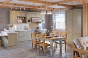 Кухня Шейкер цвет магнолия - Мебельная фабрика «Гармония мебель»