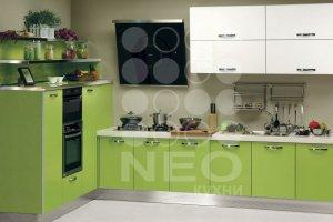 Кухня Система RAL903+RAL6038 - Мебельная фабрика «Нео Кухни»