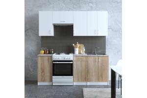 Кухня Сканди 1 - Мебельная фабрика «Континент»