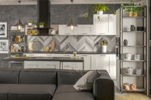 Кухня Сканди - Мебельная фабрика «Walenza mebel»